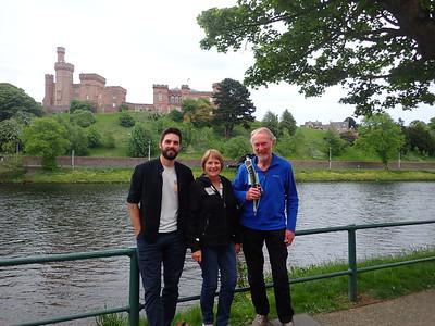 Scott Finlay, Cheryl FInlay and Brian Burnie - Inverness