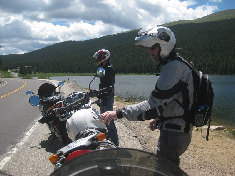 Saturday ride to Mt. Evans and down to Bergen Park