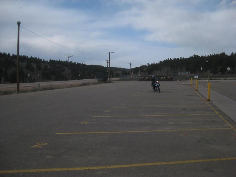 parking lot practice