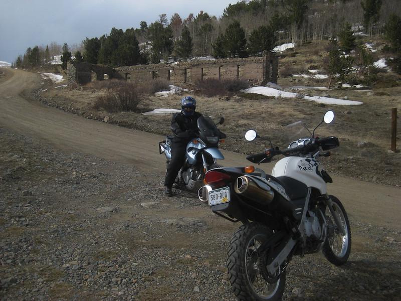 Riding to Caribou