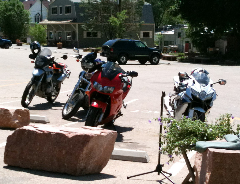 Riding with the Front Range Riders