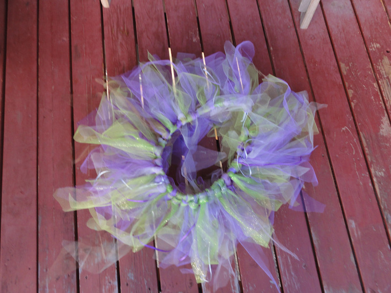 Tutu for the Bolder Boulder, but I'm also thinking accessory to motorcycle!