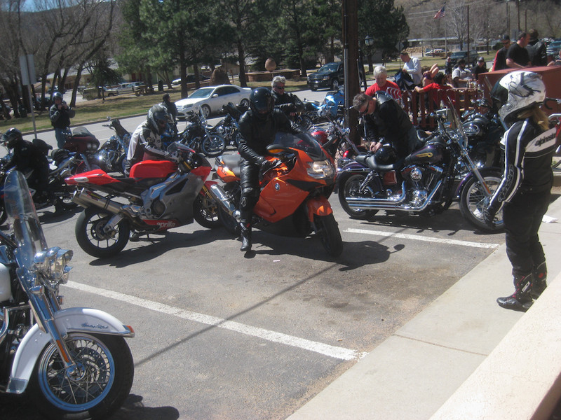 ride to Lyons for lunch