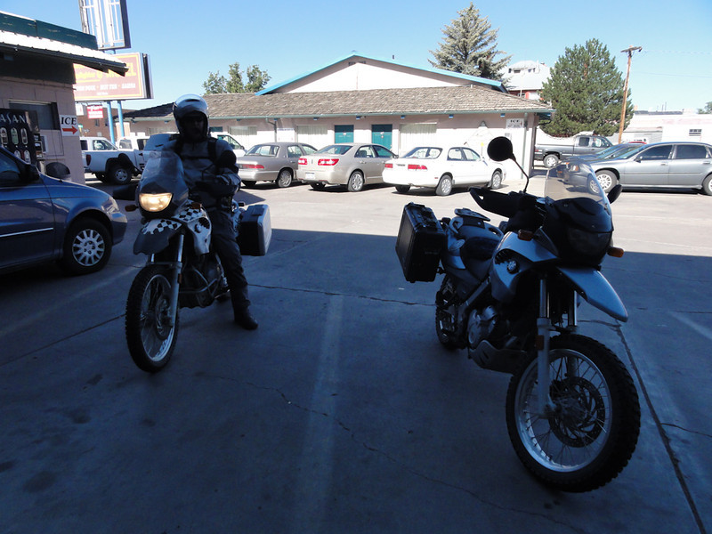 Leaving Alamosa, CO; Riding Taos 2011