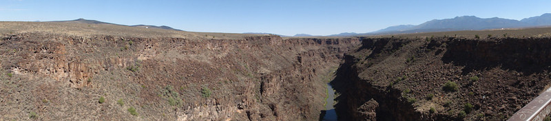Through the Rio Grande Gorge; Riding Taos 2011
