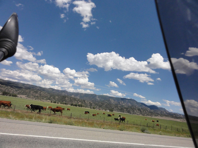 Riding to Alamosa; Riding Taos 2011