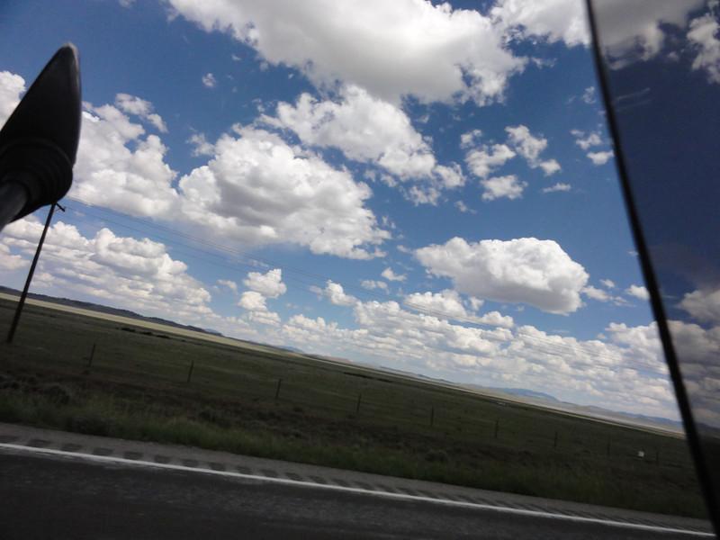 Riding to Alamosa; Riding Taos 2011