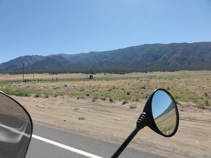 Riding to the Great Sand Dunes from Alamosa; Riding Taos 2011