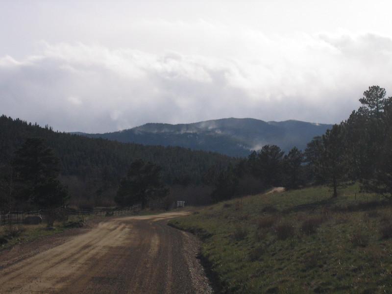 Driving home from Boulder via Sugar Loaf road