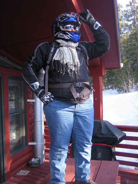 road warrier - super hero outfit