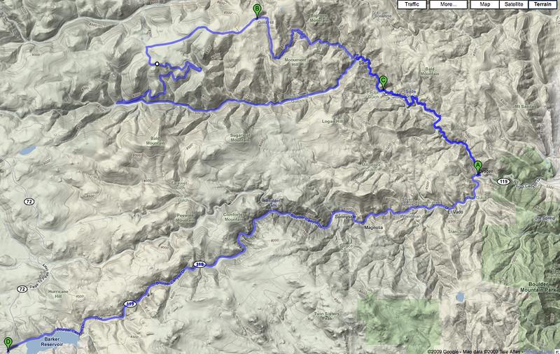 2009-06-21: 1 Switzerland Trail ride