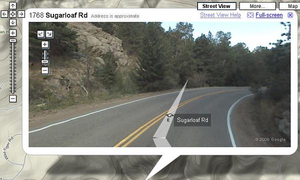 2008 - Sugarloaf Road twisties