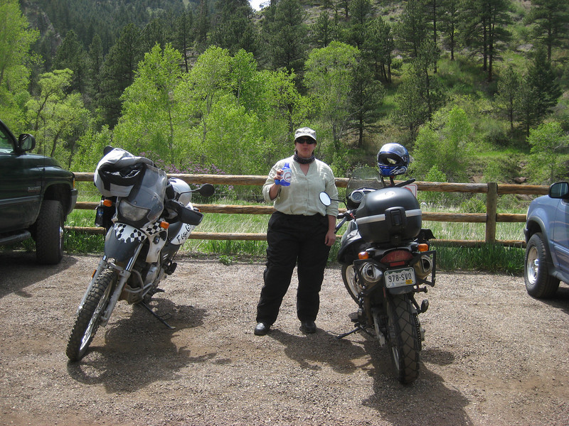 2009 May: Nederland - Rt 7 to Lyons - up Left Hand Canyon
