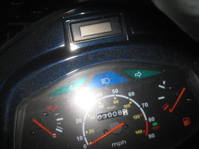 Scooter mileage