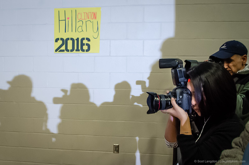 8.  Clinton Speaks At Derry Middle School