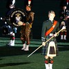Scotch College Melbourne Australia Millitary Tattoo bagpipes pipes and drums kilts army marching November 2006