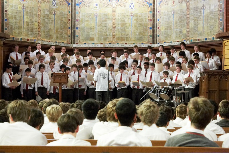 Scotch College 2008 House Choral Competition Scotch College Photographer Andrew Murdoch