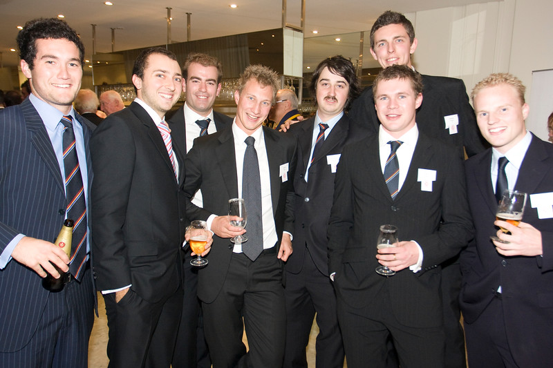 Scotch College OSCA Annual Dinner 2009 Leonda on the Yarra Dr Michael Wooldridge Tom Batty   Nathan Su