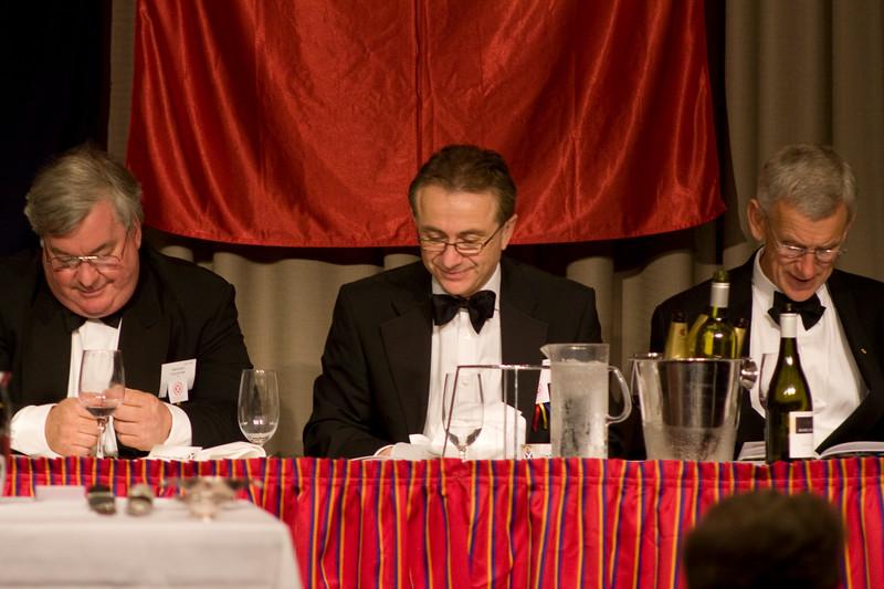 Scotch College OSCA Annual Dinner 2009 Leonda on the Yarra Dr Michael Wooldridge Tom Batty   Nathan Su