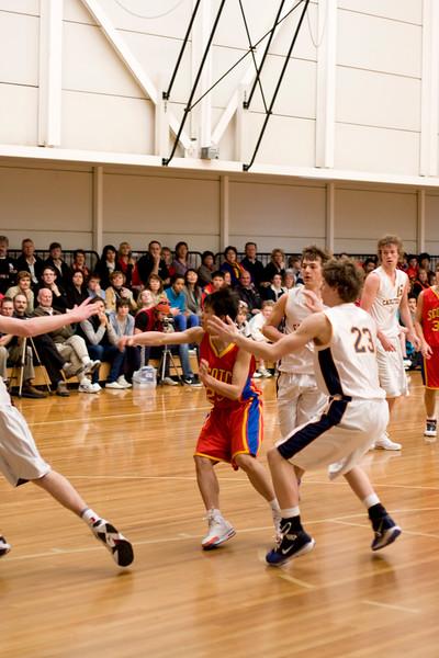 Scotch College Basketball 1st 2009 final