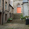 A backstreet in Kirkwall, Orkney