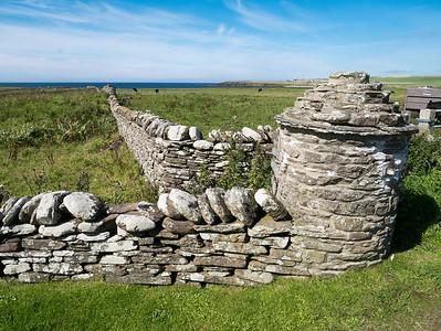 A drystone wall