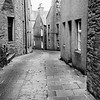 The main street in Stromness, Orkney