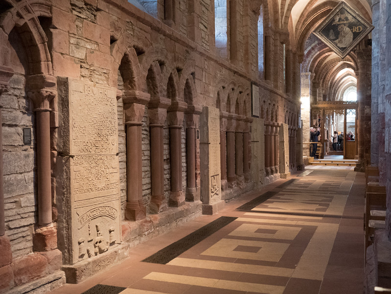 The Nave of St Magnus Cathedral