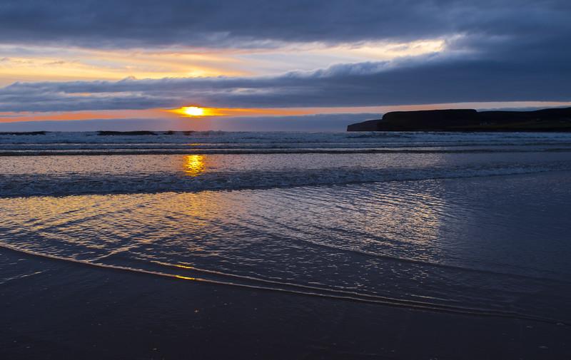 Sunset from Dunnet Beach