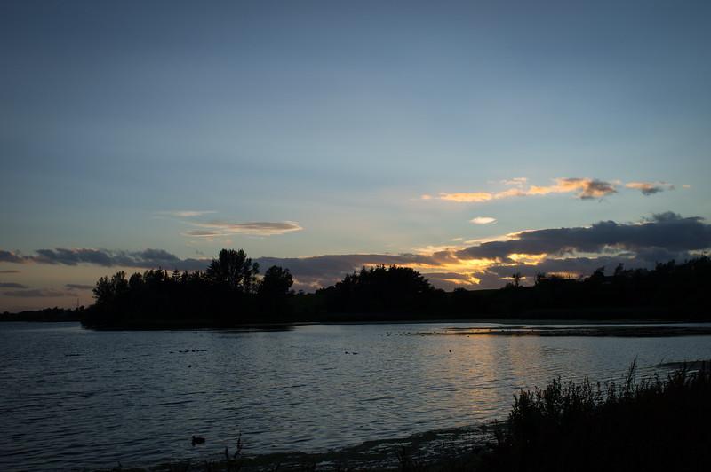 Sunset at Loch of Forfar