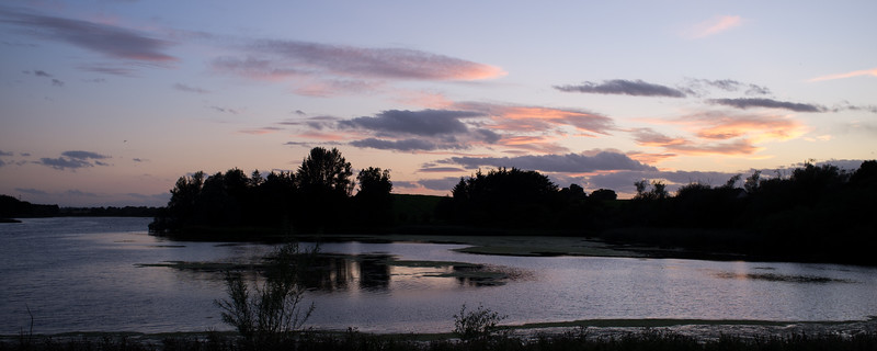 Sunset at Loch of Forfar