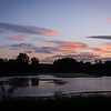 A few minutes after Sunset at Loch of Forfar