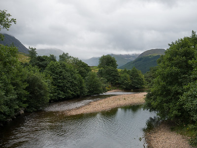 The river at the base of Ben Nevis