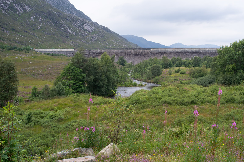 A Hydro-Electro Dam at Loch Cluanie