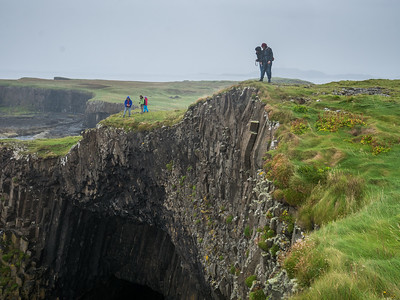 The Cliff directly above Fingal's Cave
