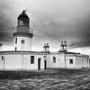 Chanonry Point Lighthouse.
