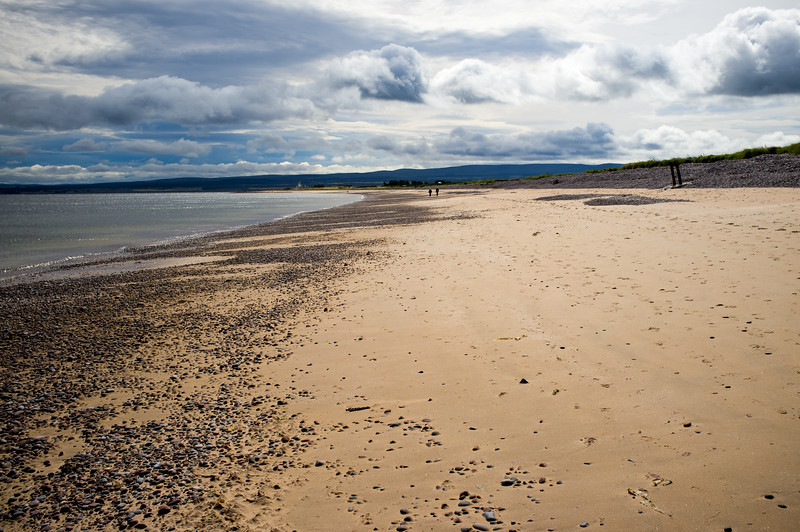 Rosemarkie beach with tide out
