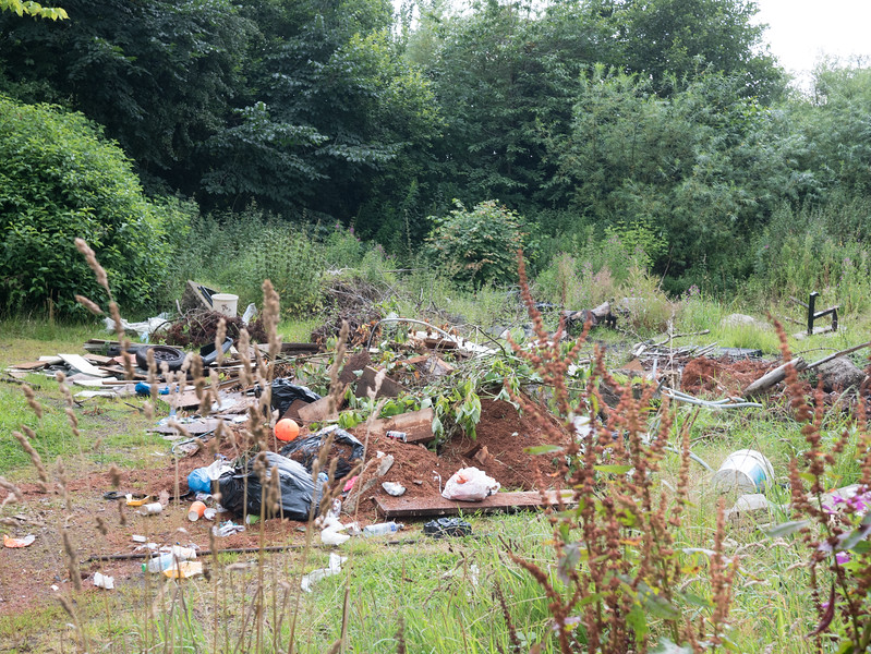 A little bit of fly-tipping