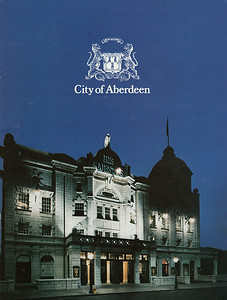 HMT Programme Cover 1984