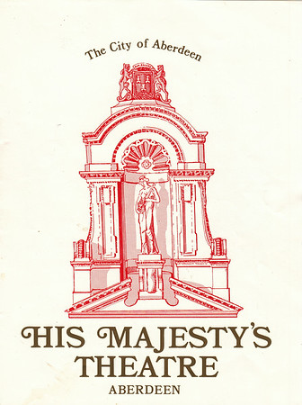 His Majesty's Theatre Programme Cover 1983