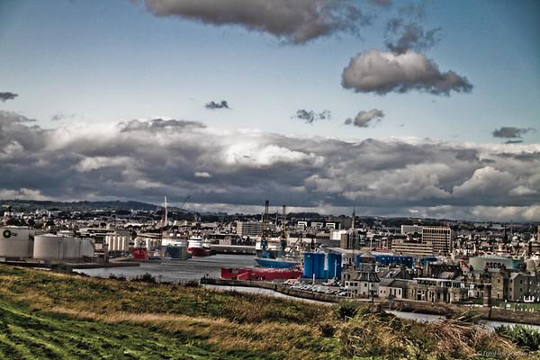 Aberdeen Harbour and Footdee