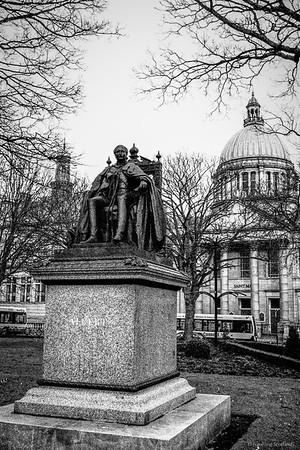 Prince Albert Statue, Union Terrace, Aberdeen