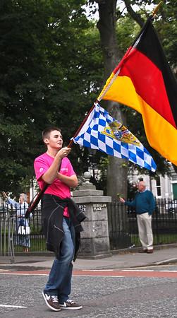 Flags Aberdeen Tartan Day 2010