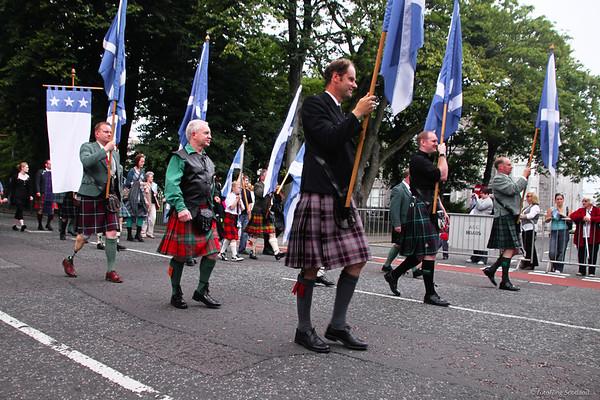 Parade Aberdeen Tartan Day 2010