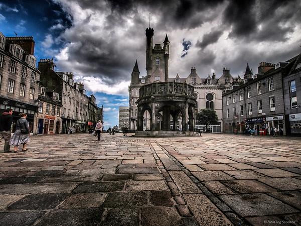 Mercat Cross, Castlegate, Aberdeen