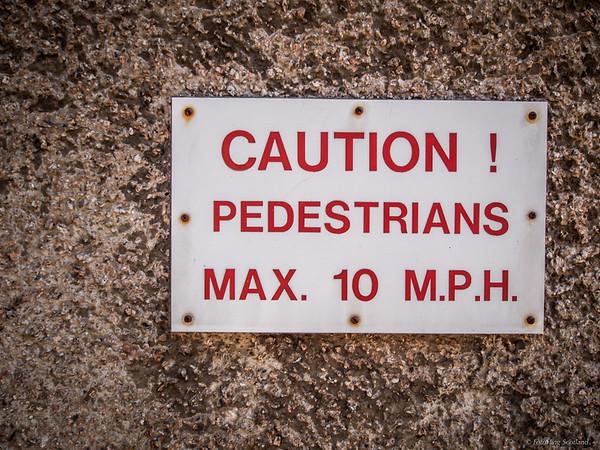 Speedy Pedestrians !
