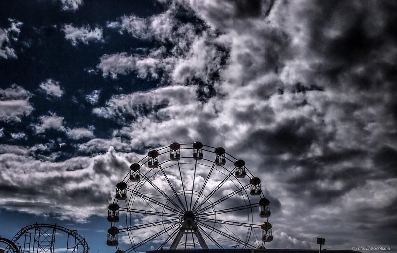 Fun Fair at Aberdeen Beach