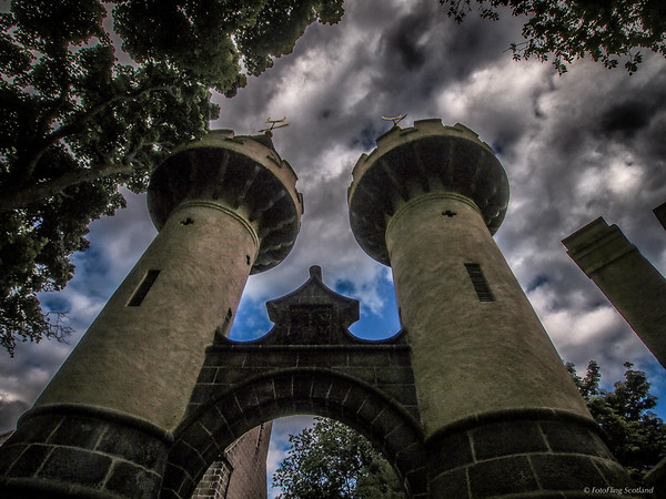 Powis Gate Towers, Old Aberdeen