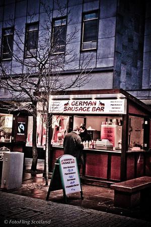 German Sausage in Aberdeen