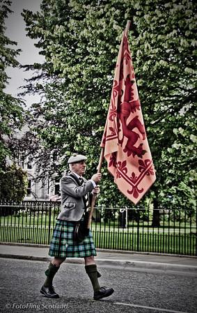 Parade Participant Aberdeen Tartan Day 2010